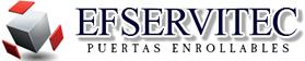 E.F. Servitec - Puertas enrollables